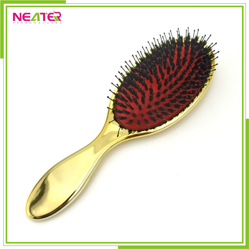 Oval Cushioned Boar Bristles And Nylon Bristle Mix Goody Hair Brush