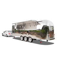UKUNG New business Airstream very good at making business in street, popular mobile food trailer/ food truck