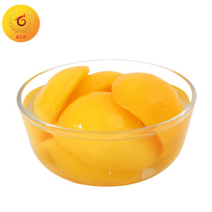 High quality canned peaches halves brands in light syrup