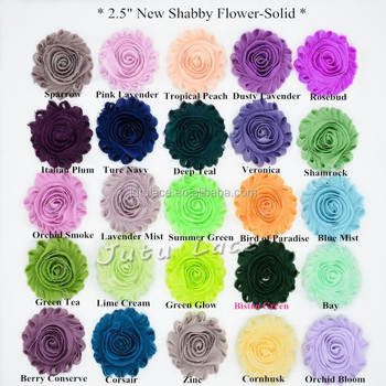 Total 108 Solid Colors Beautiful Whole Rosettes Flower Fabric Flowers For Wedding Dresses Decoration