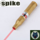 Spike 30-06 .25-06 .270 Tactical Brass Red Dot Laser Cartridge Bore Sight Boresight for Hunting