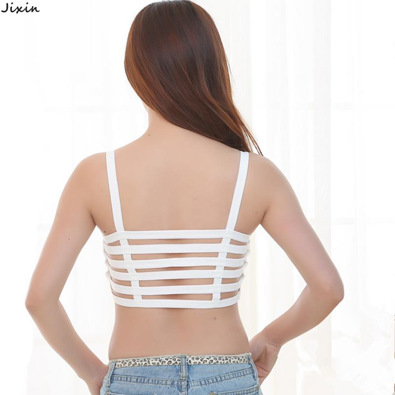 8ed050310f4210 Get Quotations · Fashion Women Tops Summer Style Sexy Cage Halter Top  Padded Black White Camisole One Size