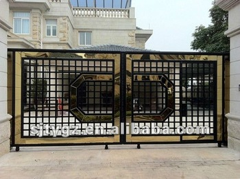 New Simple Gate Design Of Forge Iron Around The World