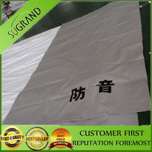 PVC safety mesh sheet tarp with Japan FR label /fire resistant/fire retardant from hefei grandnets