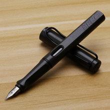 Ручка для фонтана Hero 359 F/EF, пластиковая коробка для поглощения роторных чернил, школьные и офисные принадлежности, художественные принадлеж...(Китай)