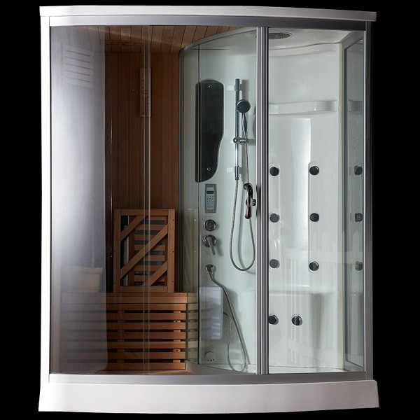 hei er verkauf multifunktions dampfdusche sauna combos f r 2 personen dampfsauna bild dusche. Black Bedroom Furniture Sets. Home Design Ideas