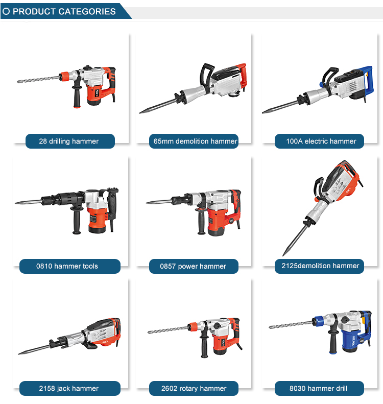 Factory high performance 1900W electric jack hammer