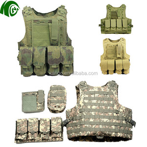 Tactical Molle Vest Outdoor Military Combat Vest Airsoft Military US Navy Seals Hunting Paintball