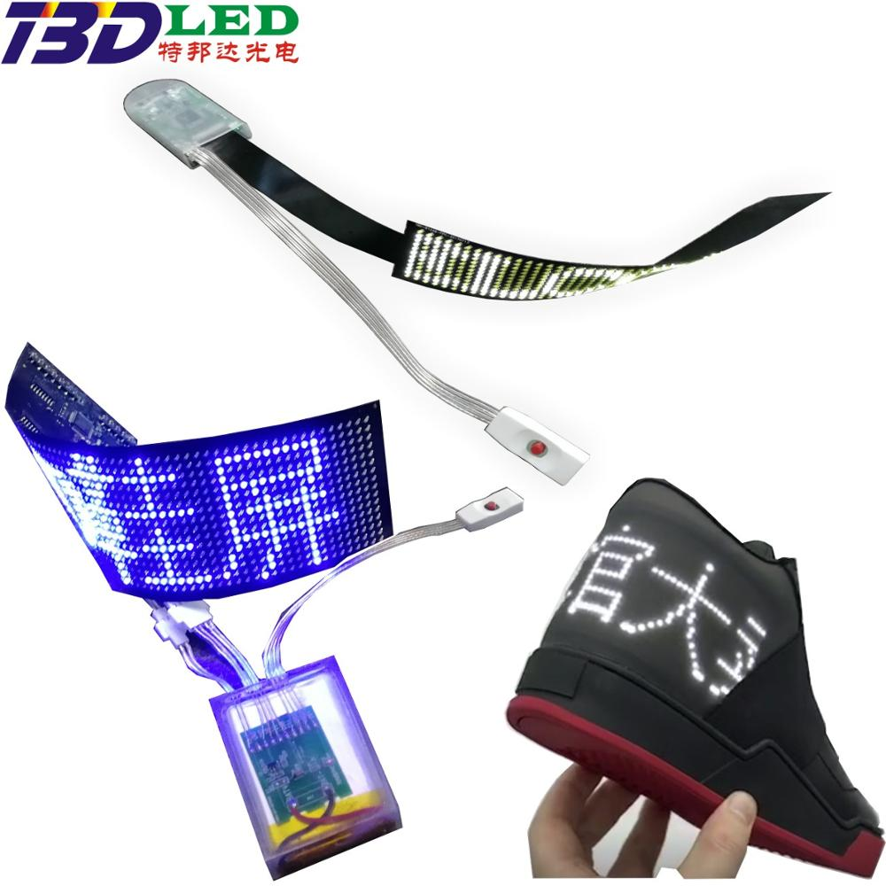 Foldable led flexible <strong>screen</strong> with smart App control