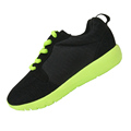 2016 Black fluorescent Green Color Boys sneakers children kids girls running shoes sports shoes chaussure garcon
