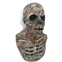 Deluxe Scary Head Horror Soft Foam Cranium Mask for Halloween and Carnival Party