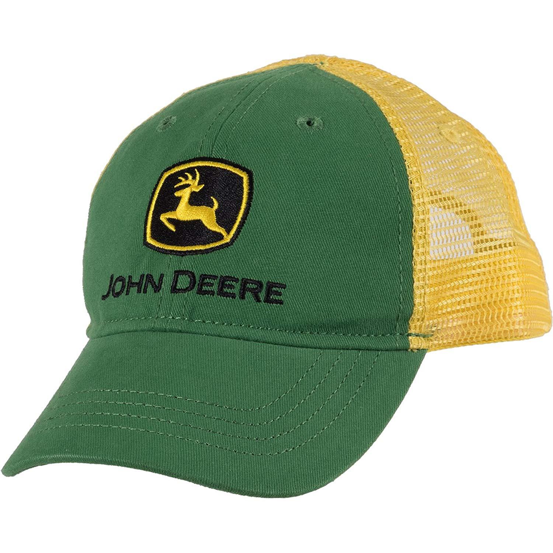 John Deere Boys  Trademark Trucker Ball Cap 6eb1102fc0d4