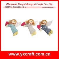 Handmade fabric angel christmas felt ornaments