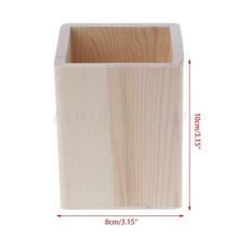 Настольный органайзер, деревянный держатель, пенал для карандашей, для детей, сделай сам, чехол для раскрашивания, глиняные инструменты(Китай)