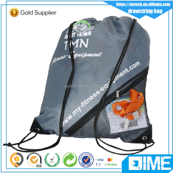 Custom cheap waterproof colorful drawstring bag for promotions
