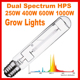 600 watt HPS HID Hydroponics Light Bulb Grow