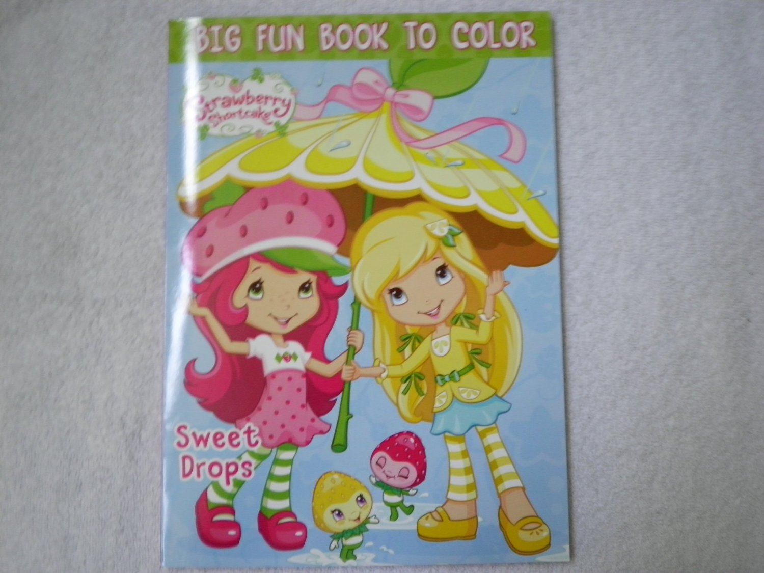 Strawberry Shortcake Activity Colouring Book
