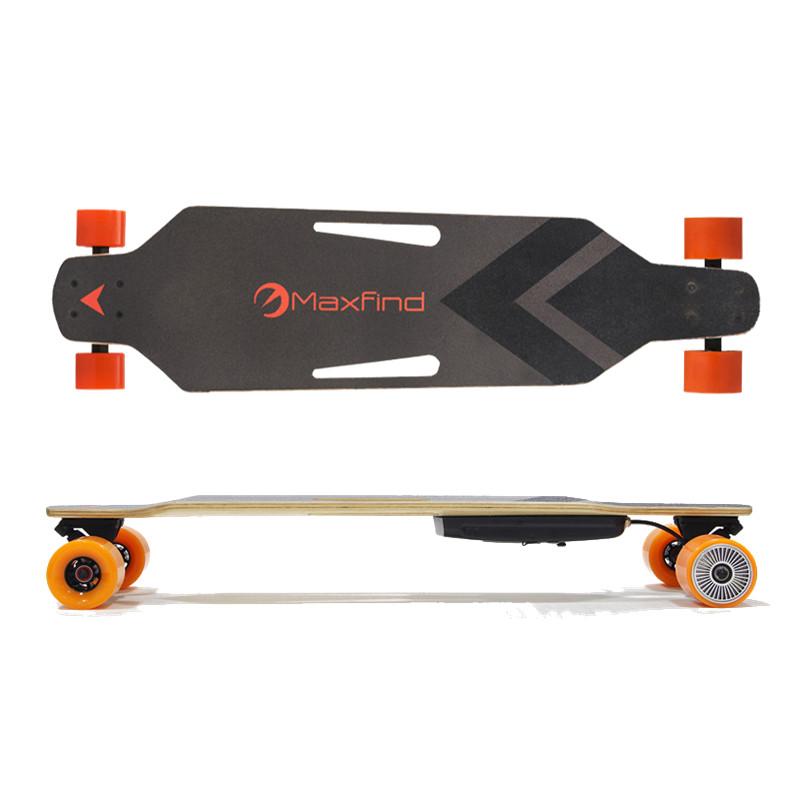 Cheap electric longboard skateboard with powerful motor