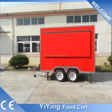 FS400C Yiying factory made brand new travel camper trailers for motorcycles