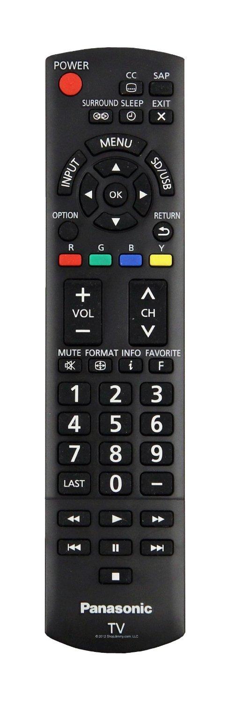 Panasonic Remote Control Originally Supplied with TC-L32X5, TC-P50X5, TC-P50U50, TC-P42X5, TC-P42X52, TC-60PU54