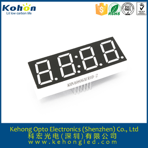 "7 segment display 4 digit LED 0.36"" - see attached spec must be identical"