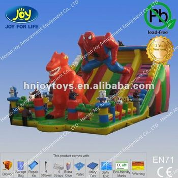 Superman Slide Inflatable, Great Inflatable Slide with Superman Design