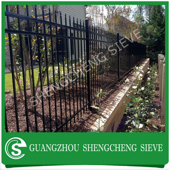 2m 2 5m Standard Size Privacy Security Home Garden Metal Fence