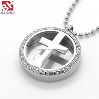 China Manufacturer 316L Stainless Steel Locket Custom High Quality