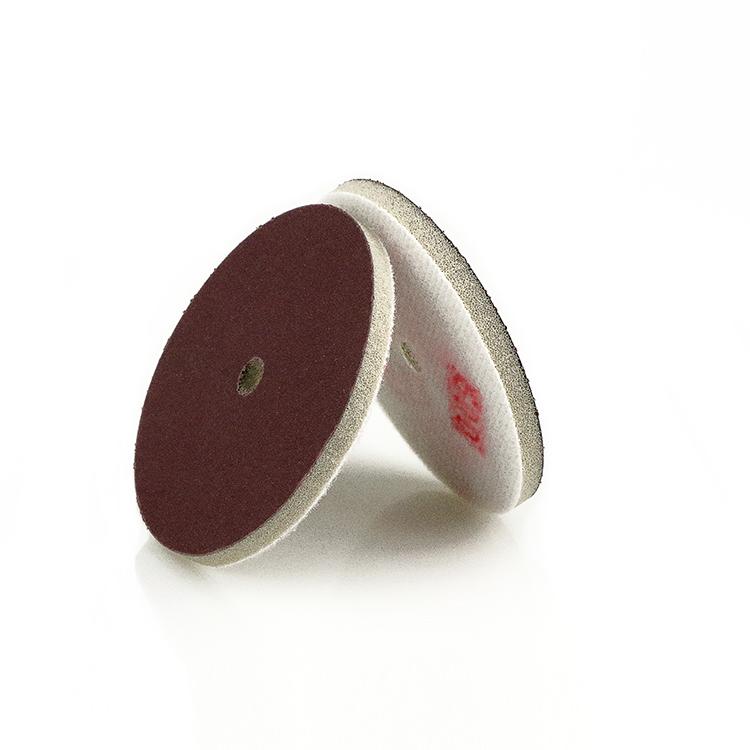 Metalen schuurpapier slijpschijf spons polijsten pad klittenband ronde schuurschijf voor hout en beton