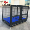 BAIYI Brand Dog Kennel Cage With Wheels and Plastic Grate (Whatsapp: +86 15932145230)