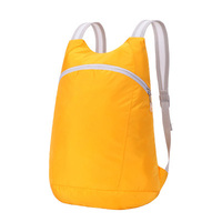 customization china alibaba New outdoor folding waterproof foldable storage blank canvas backpack