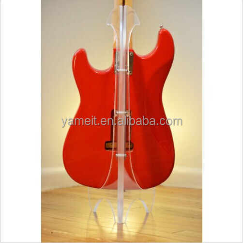 Custom Clear Acrylic Guitar Stand 2016 New Product