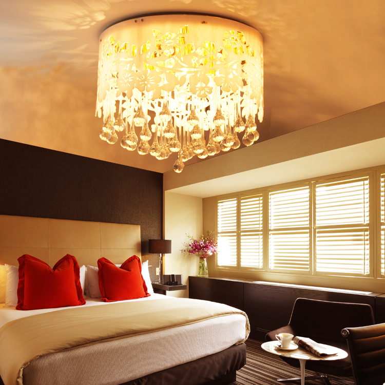 Living Room Lighting Ideas On A Budget: Fashion Crystal Ceiling Light Living Room Lights Bedroom