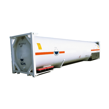18.9 tons 45.5m3 40' 40 feet cryogenic 40ft lng iso tank container