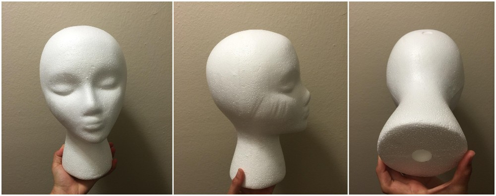 2016 New Reach Styrofoam Wigs Head (Female) Mannequin Head