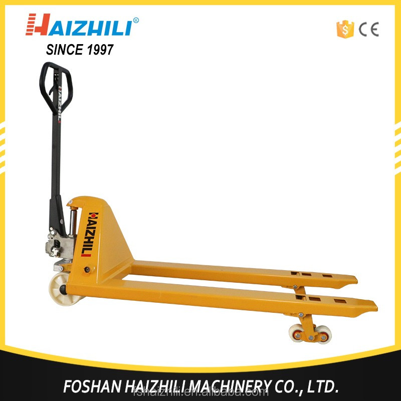 Hot sale material handling tools 3000kg / 3 ton hand pallet truck price