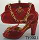 new design matching italian ladies shoes and matching bags