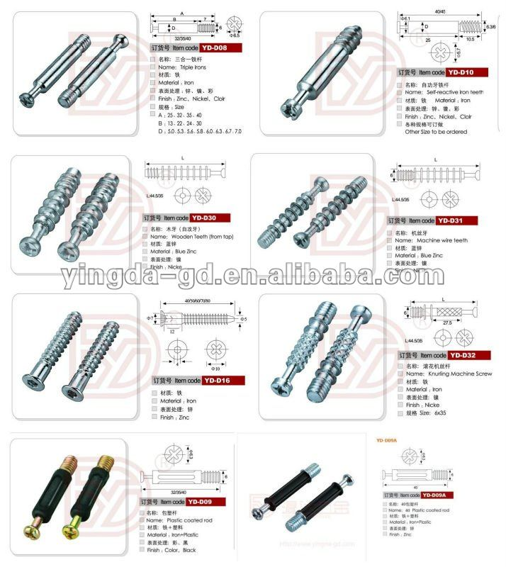 High Quality Hot Sale Different Types Iron Furniture Connector