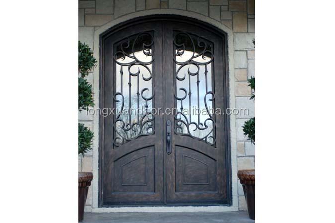 Dise o de hierro puertas de entrada principal hierro for Diseno puerta principal
