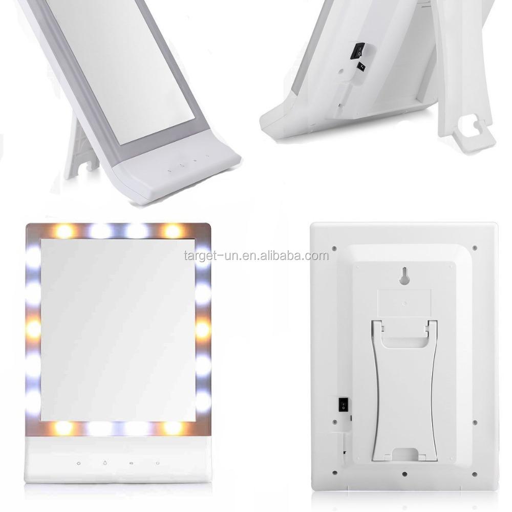 hotel interruptor tctil led espejo de vanidad espejos con luces bao ligted espejo