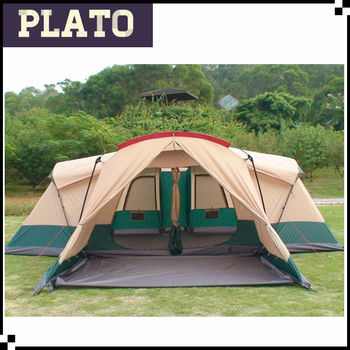 Elephant shaped 8-12 person family tents with vestibules outdoor c&ing tent with three & Elephant Shaped 8-12 Person Family Tents With VestibulesOutdoor ...