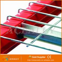 pallet rack steel grid galvanized wire mesh decking panels