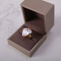 Yuansheng new design freshwater pearl baroque ring 20-28mm 10 Designs Available