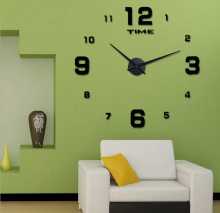 Creative Wonderful Style DIY wall clock