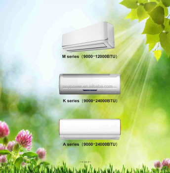 TOP1 12V DC portable hybrid car slip green solar powered window air conditioner cooler heater price