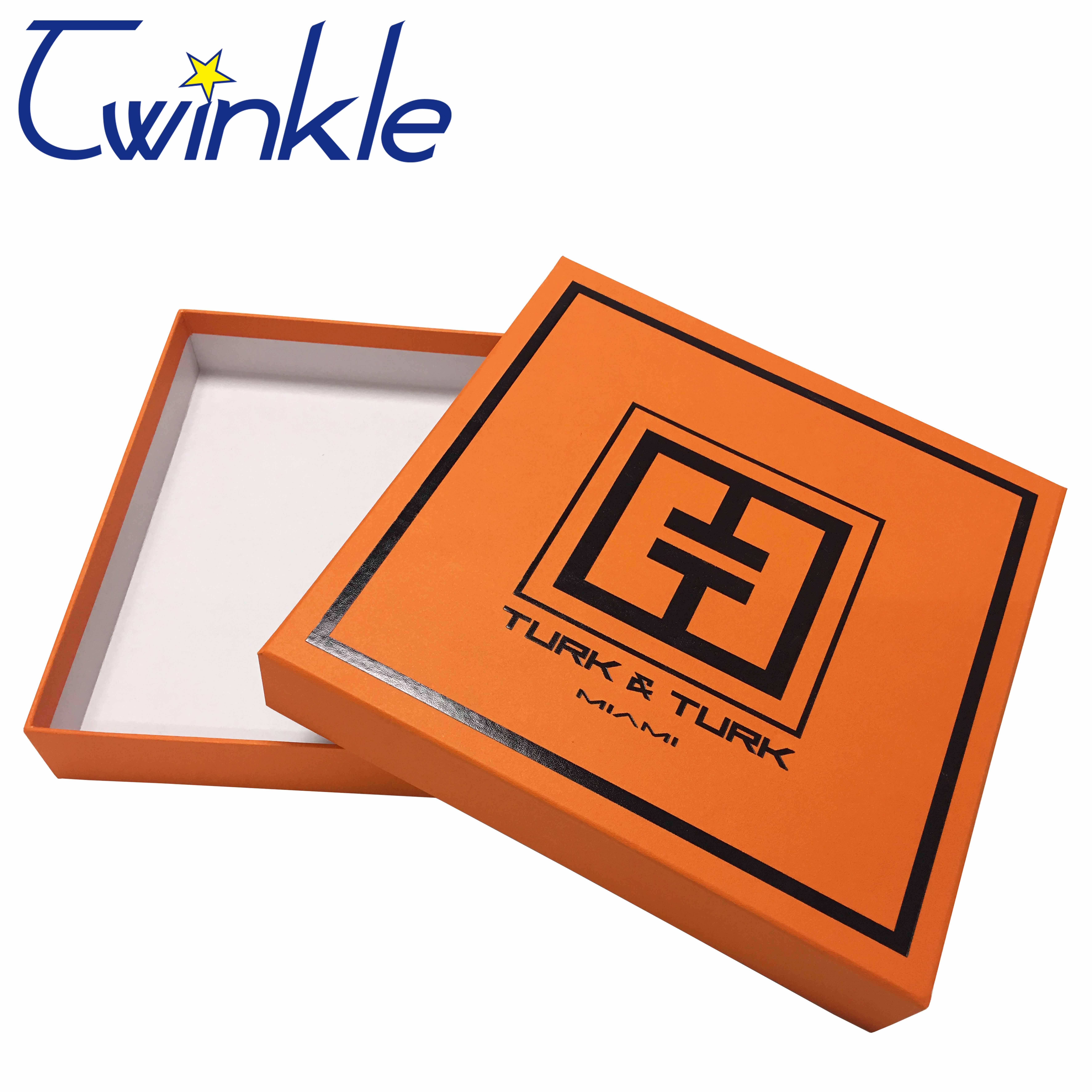 OEM logo printing customized gift box with high quality factory in Shenzhen