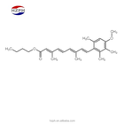 Butyl High-purity 9- 4-Methoxy-2 3 6-trimethyl-phenyl -3 7-dimethyl-nona-2 4 6 8-tetraen-l-oic Acid Butyl Ester CAS:54757-45-8
