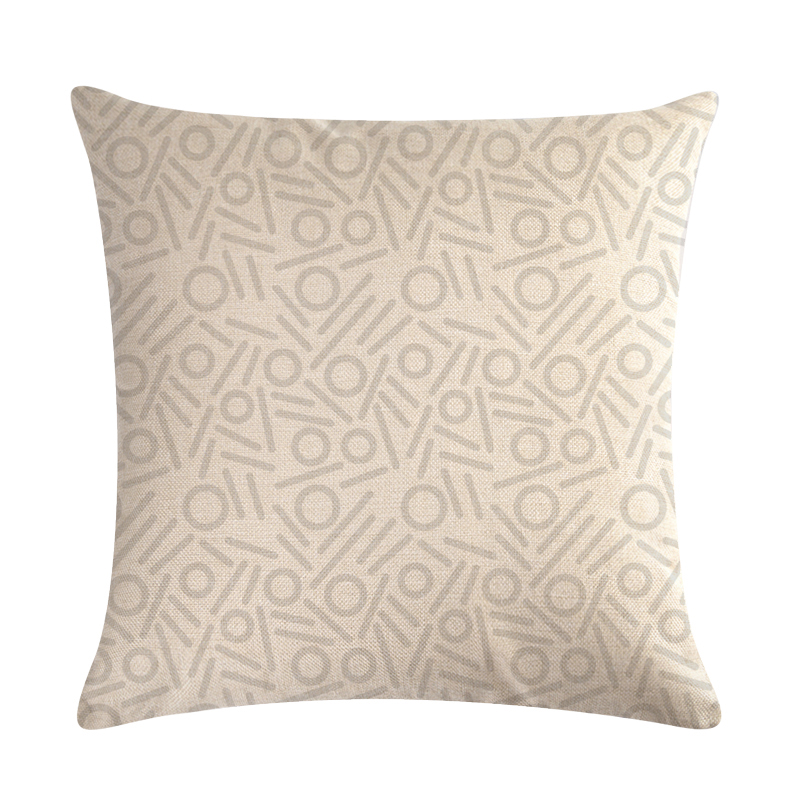 Simple Symbolic Pattern Pillowcase Decorative Pillowcase