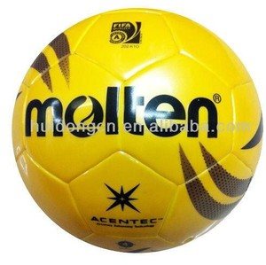 Molten Brand TPU Leather Factory Wholesale Indoor Match Training Size 4 Low Bounce Customized Logo Soccer Molten Futsal Ball
