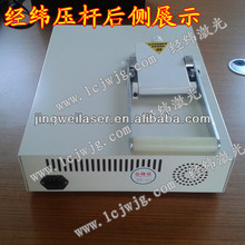 Flash stamp machine for rubber stamps
